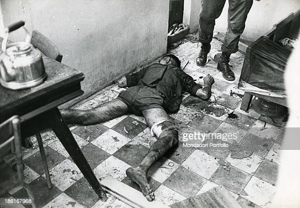 A Viet Cong killed while preparing the tea in a house in Saigon during the Viet Nam war 1968