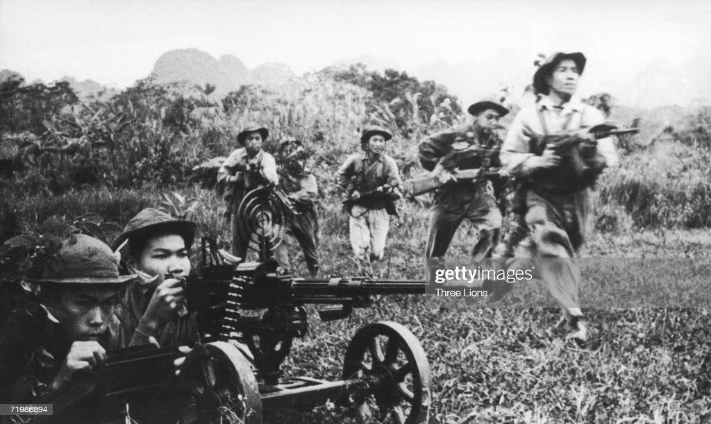 Viet Cong Attack : News Photo