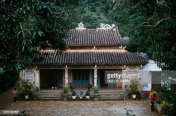 Viet Nam Da Nang Marble Mountains Chua Tam Tai Pagoda