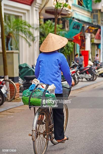 Vietnam bike rider