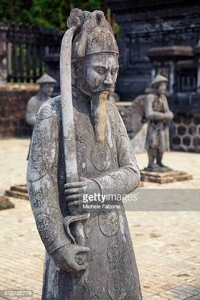 vietnam, danang, hue, emperor khai dinh tomb - south vietnam stock pictures, royalty-free photos & images