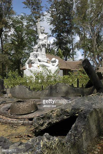 Vietnam: Denkmal zur Erinnerung an die Opfer des Massakers von My Lai.
