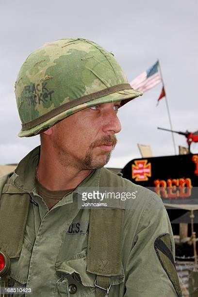 Vietnam Era Soldier.