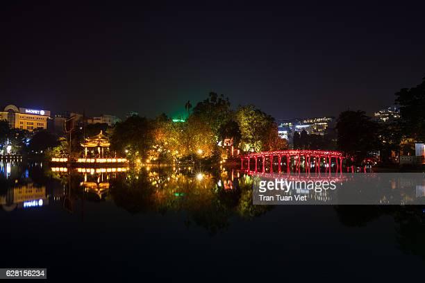 Vietnam - Hanoi - Ngoc Son Temple and The Huc Bridge