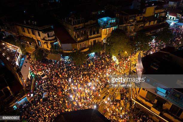 Vietnam - Hanoi Rush Hour Traffics