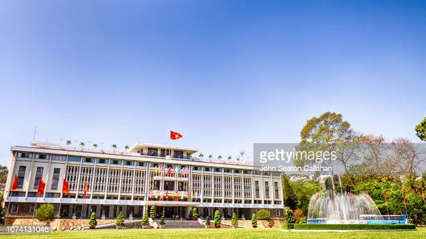 vietnam, ho chi minh city, independence palace - reunification stock pictures, royalty-free photos & images