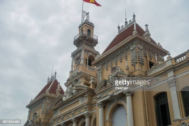 Vietnam, Ho Chi Minh City (Saigon). People's Committee Building. (City Hall)