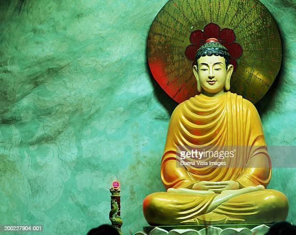 Vietnam, Ho Chi Minh City, Quoc Tu Pagoda, Buddha statue