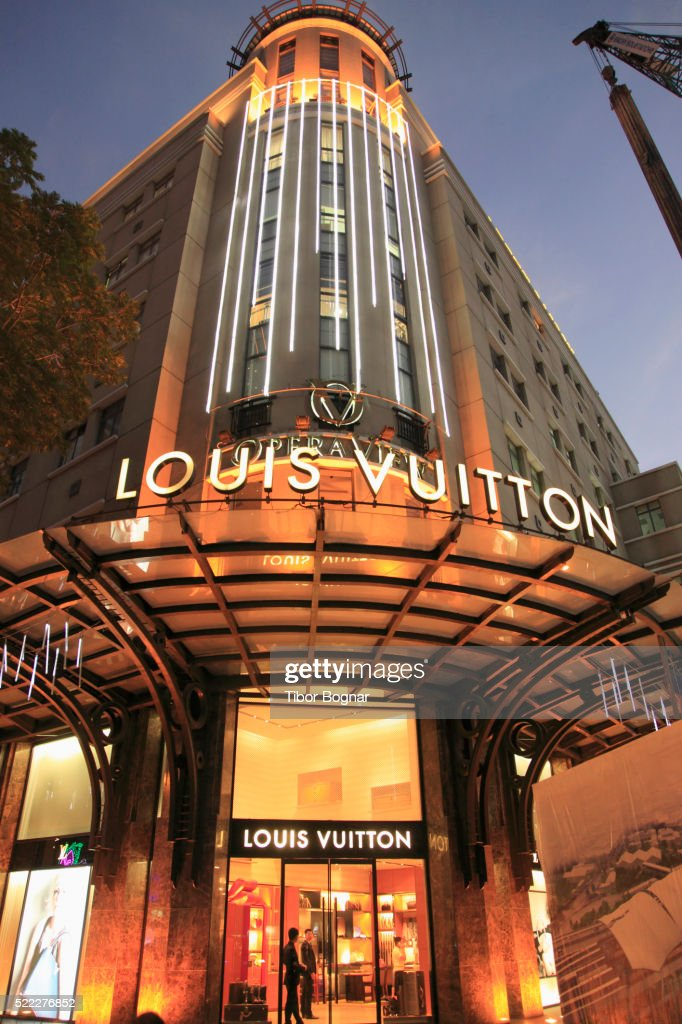 Vietnam, Ho Chi Minh City, Saigon, Louis Vuitton Store,