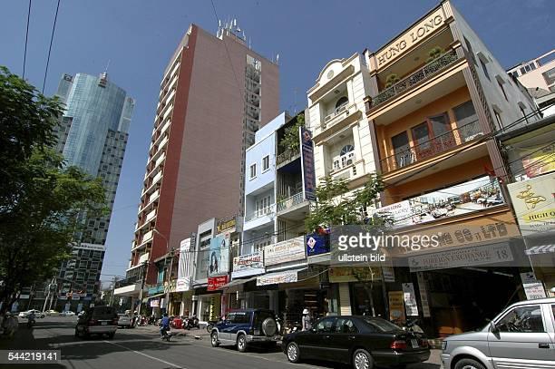 Vietnam, Ho-Chi-Minh-Stadt: Straßenverkehr.