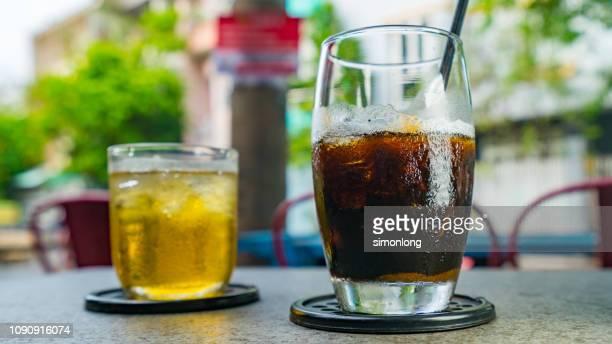 Vietnam ice coffee and tea