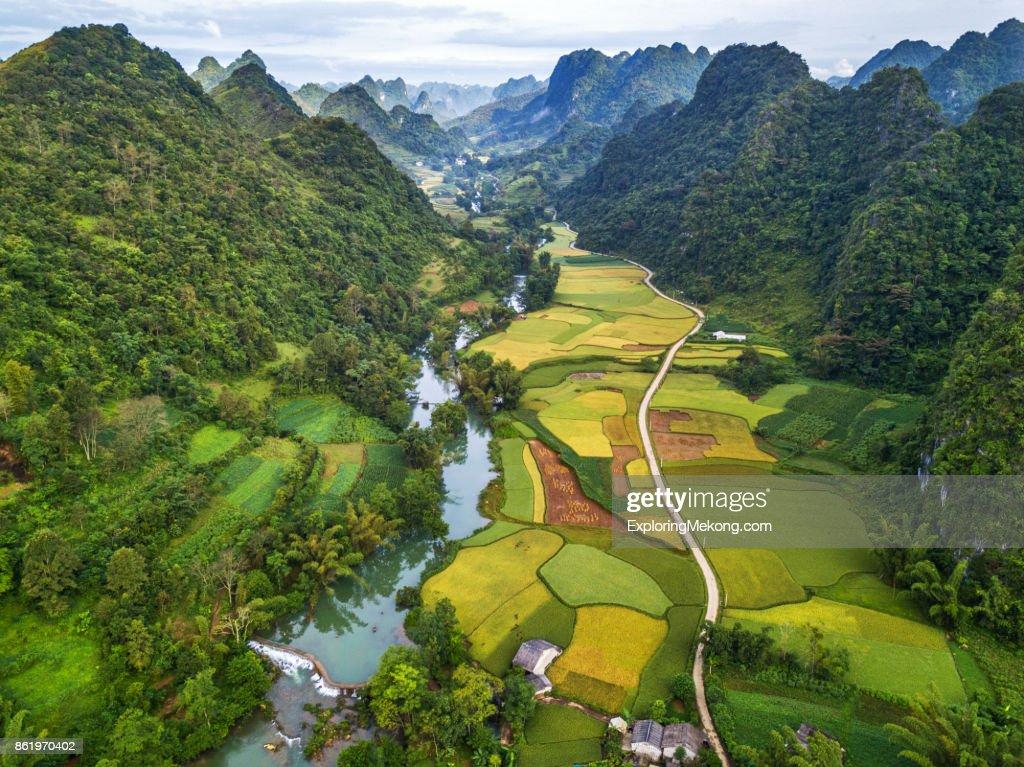 Vietnam landscape : Stock-Foto