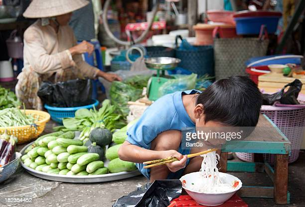 vietnam, market, near can tho. - can tho province stock pictures, royalty-free photos & images