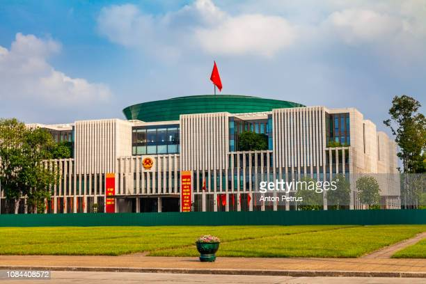 vietnam parliament house in hanoi, vietnam in a summer day - anton petrus stock pictures, royalty-free photos & images