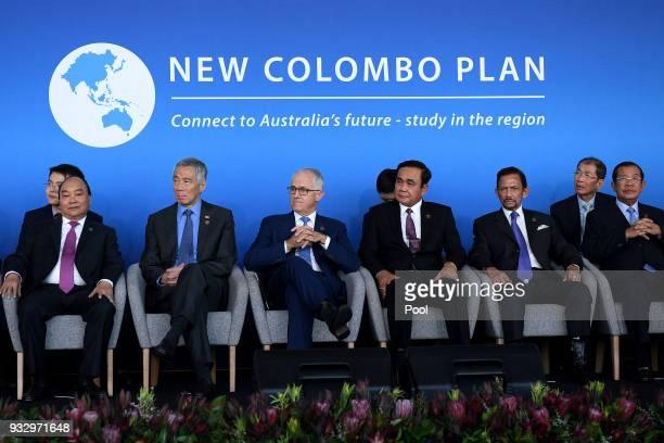 Vietnam Prime Minister Nguyen Xuan Phuc Singapore Prime Minister Lee Hsien Loong Australian Prime Minister Malcolm Turnbull Thailand Prime Minister...