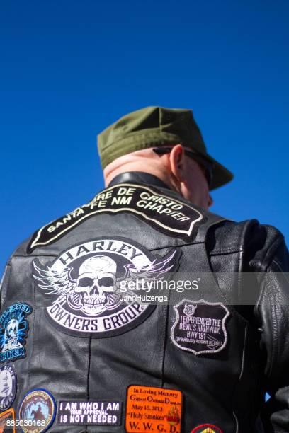 Vietnam Veteran at Veterans' Day Memorial Service