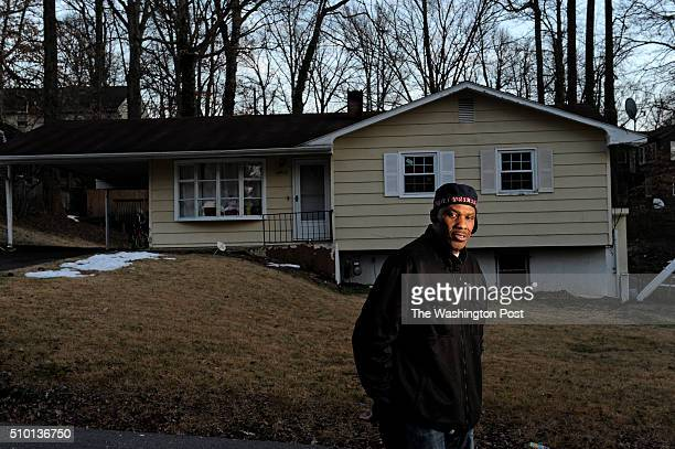 Vietnam Veteran Clarence SmithBey at the house where he used to live in the basement February 02 2016 in Temple Hills MD He was evicted after he...