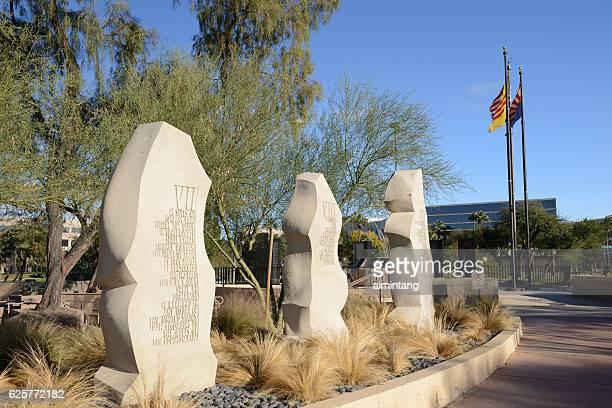 Vietnam War Memorial in Phoenix