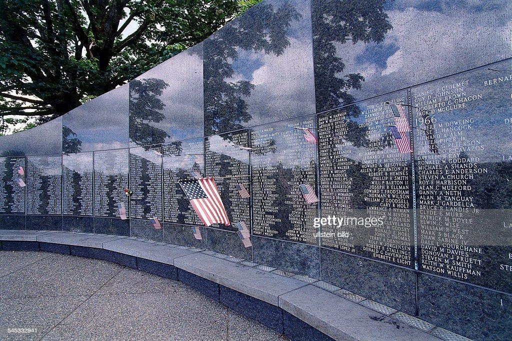 Vietnam War Memorial In Washington, D.C., Designed By Maya Ying Lin And