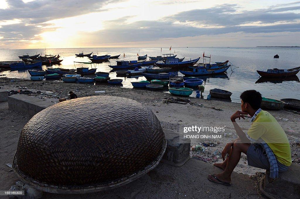 VIETNAM-CHINA-ASIA-DIPLOMACY-FISHING : News Photo