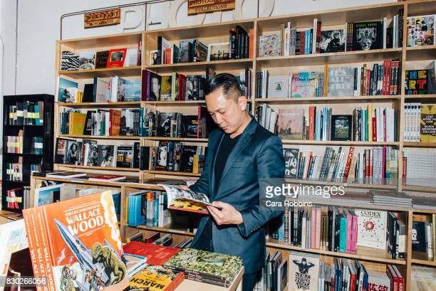 Vietnamese American novelist Viet Thanh Nguyen is photographed for Buzzfeed on February 7 2017 in Los Angeles California