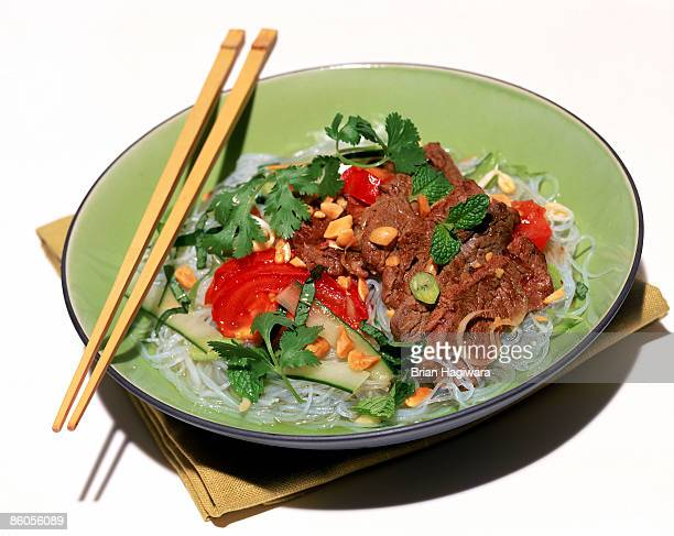 Vietnamese clear noodles with beef