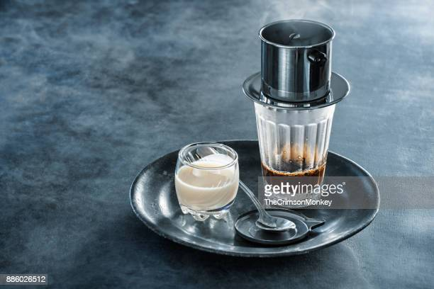 vietnamese coffee - traditionally vietnamese stock pictures, royalty-free photos & images