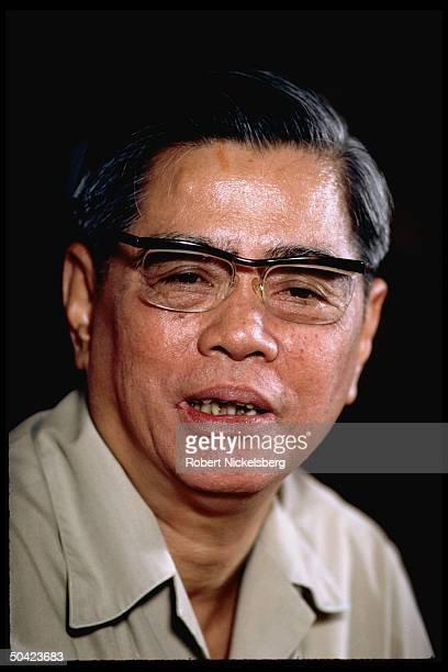 Vietnamese Communist Party Gen Secy. Nguyen Van Linh.