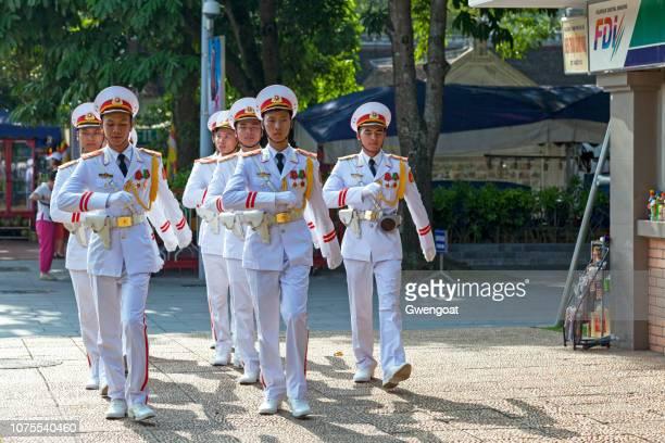 Vietnamese Honor guards
