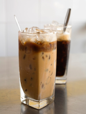 Vietnamese iced coffee with milk - gettyimageskorea