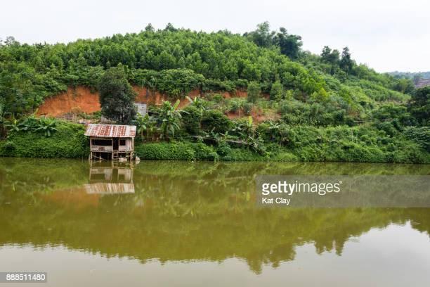 vietnamese landscape - mai chau stock pictures, royalty-free photos & images