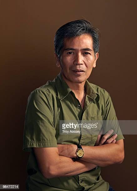 Vietnamese man portrait studio shot