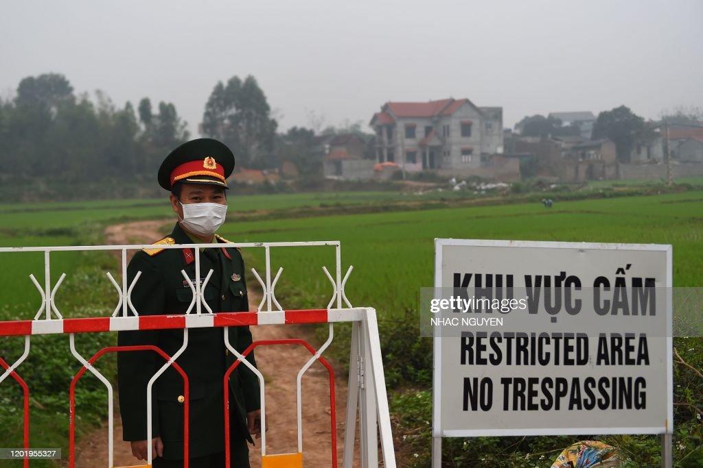VIETNAM-CHINA-HEALTH-VIRUS : News Photo