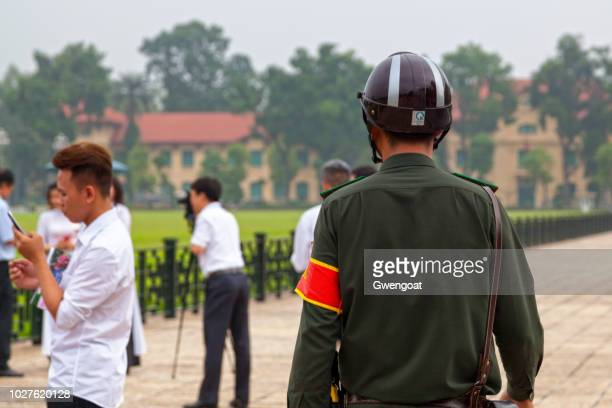 vietnamese policeman - gwengoat stock pictures, royalty-free photos & images