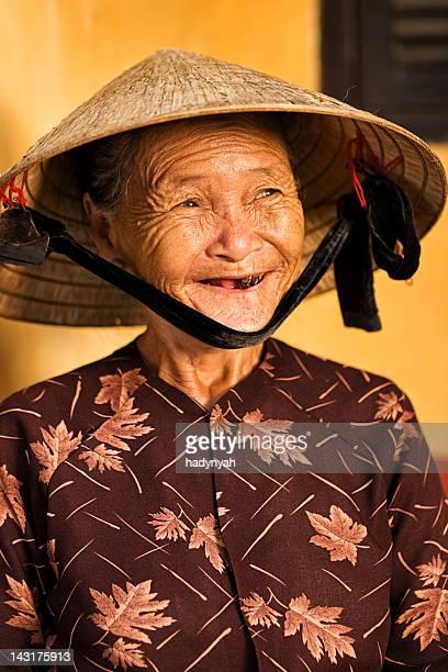Vietnamese souvenir seller