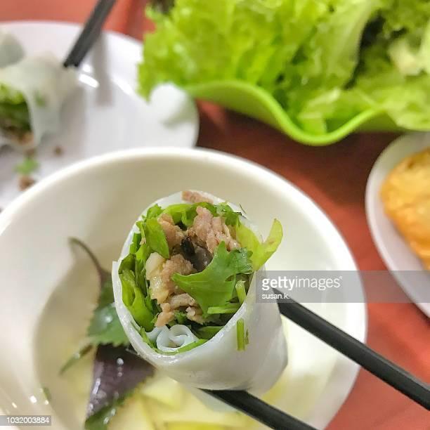 Vietnamese spring roll (nam ran-unfried)