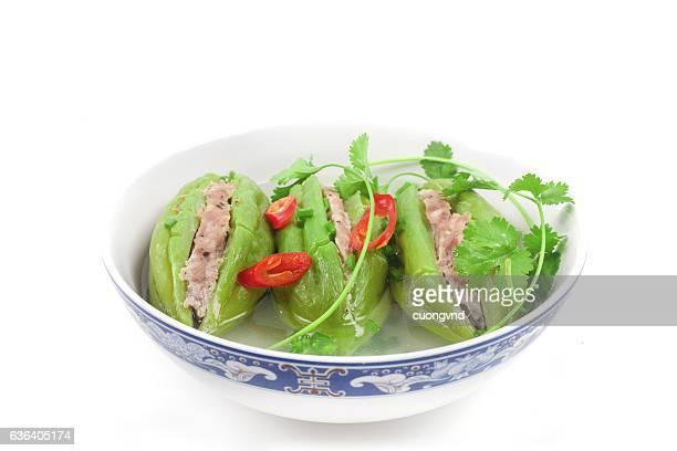 vietnamese stuffed bitter melon soup