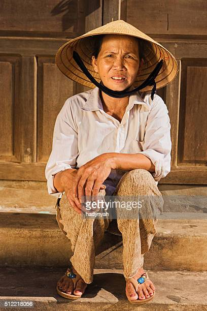 Vietnamese vegetable seller