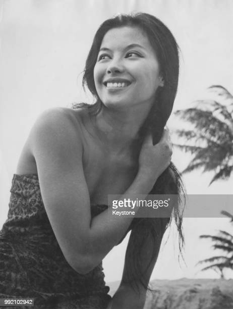 VietnameseFrench actress and singer France Nuyen star of the hit Broadway play 'The World of Suzie Wong' 5th November 1958