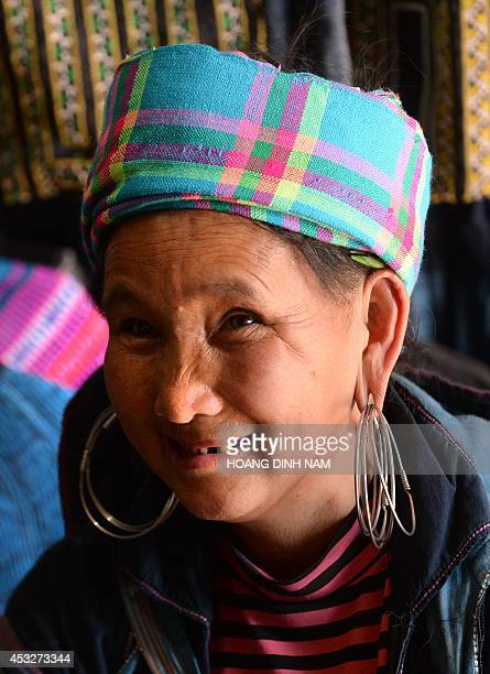 VietnamsocialminorityloveFEATURE by Cat Barton This picture taken on May 10 2014 shows Ly Thi My a Hmong woman who met her husband at the Sapa love...