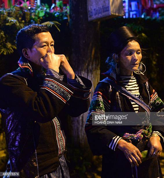 VietnamsocialminorityloveFEATURE by Cat Barton This picture taken on May 11 2014 shows traditional Hmong musician Giang A Vang whistling next to his...