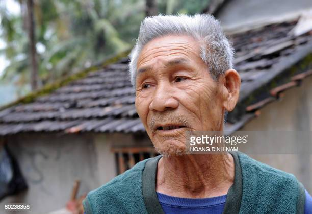 Vietnam-war-US-anniversary by Aude Genet Fisherman To Tuu retells to AFP how the My Lai massacre happened 40 years ago as he stands next to his home...