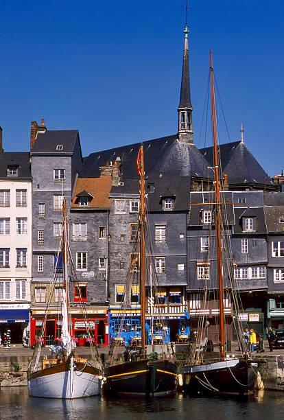 Vieux bassin of Honfleur.