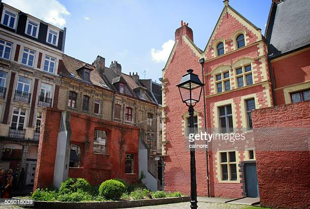 vieux lille, hospice comtesse - lille france stock pictures, royalty-free photos & images