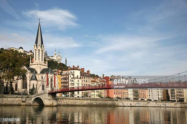 Vieux Lyon und Saone