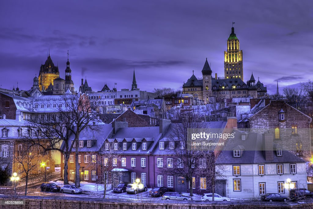 Vieux Quebec HDR I : Stock Photo