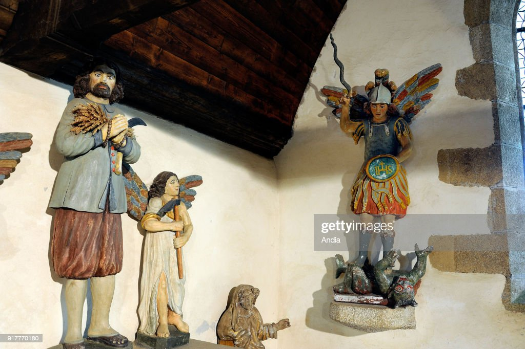 The Seven Saints' Chapel. : News Photo