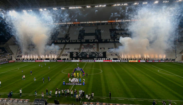 BRA: Corinthians and Palmeiras Play Behind Closed Doors for the First Match of the Sao Paulo State Championship Final Amidst the Coronavirus (COVID - 19) Pandemic