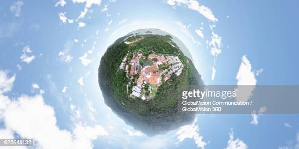 360° View above Beautiful Langkawi, Malaysia