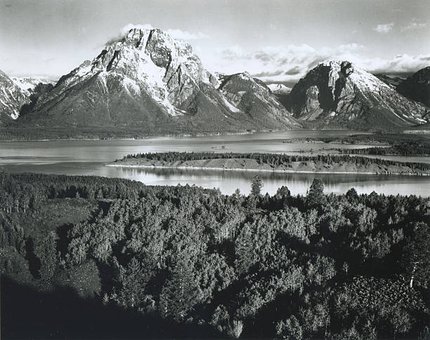 'Mt. Moran, Teton National Park'